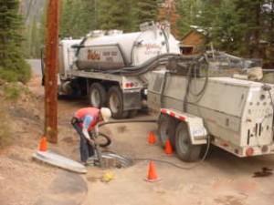 Residential Vacuum Truck Service
