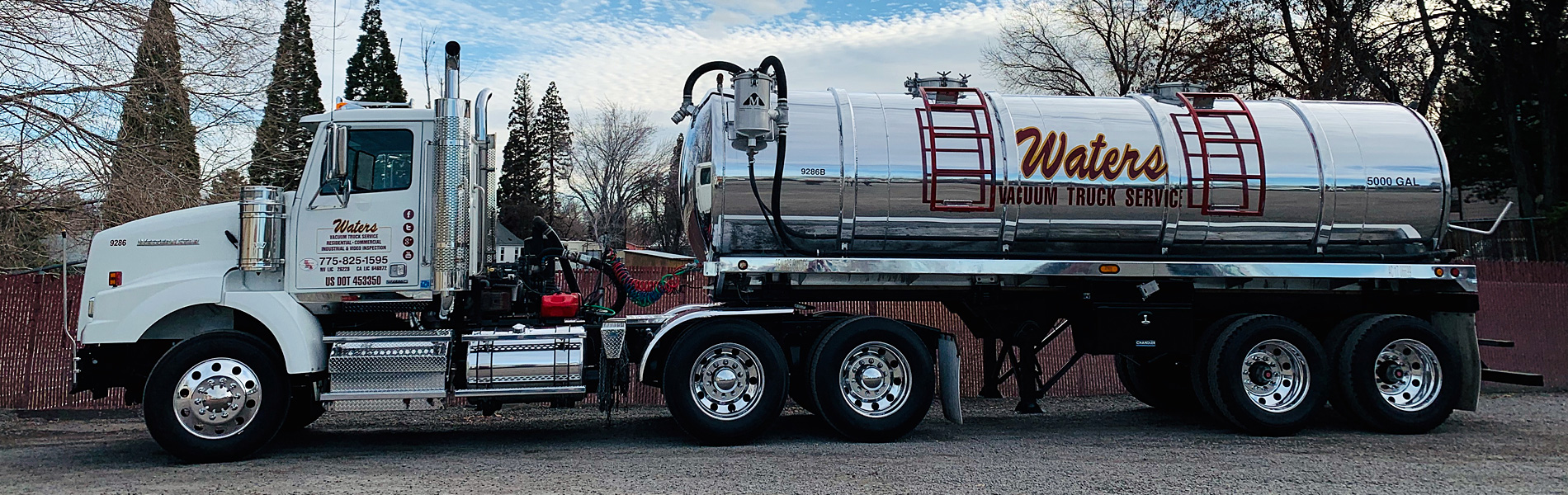 Waters Vacuum Truck Service - Northern Nevada